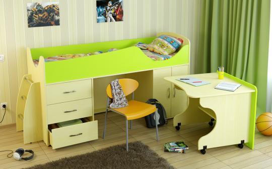 Кровать-чердак Карлсон Мини-4-3