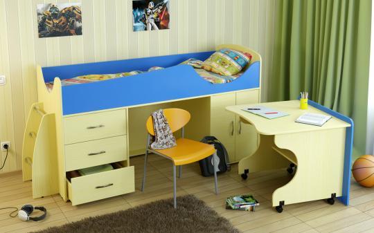 Кровать-чердак Карлсон Мини-4-5