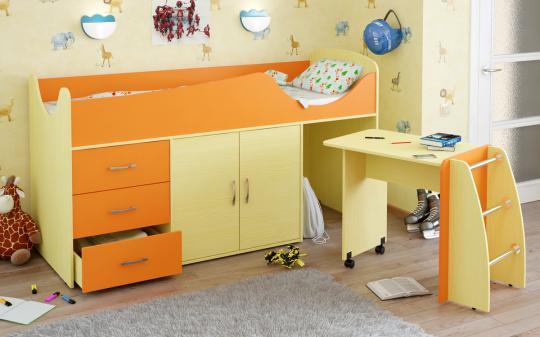 Кровать-чердак Карлсон Мини-5-3