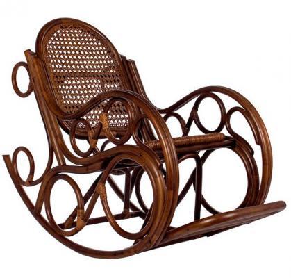 Кресло-качалка Novo с подушкой-1
