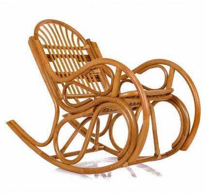 Кресло-качалка Bella с подушкой-1
