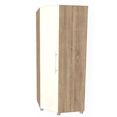 Шкаф угловой для одежды и белья ШК-113