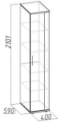 Шкаф для белья Berlin (7)