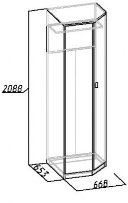 Шкаф угловой Комфорт (2)