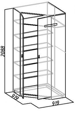 Шкаф угловой Комфорт (26)