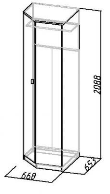Шкаф угловой Комфорт (5)