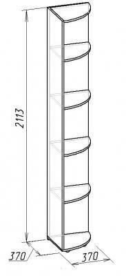 Полка угловая Hyper (1)