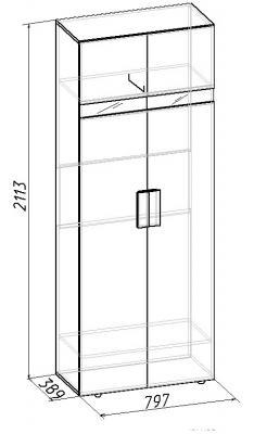 Шкаф для одежды Hyper (2)