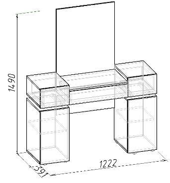 Стол туалетный Hyper (1)