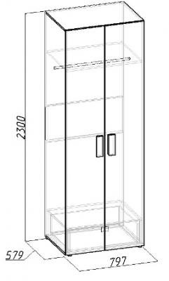 Шкаф для одежды Hyper (3)