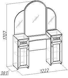 Стол туалетный Милана (1)-1