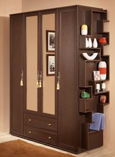 Шкаф для одежды и белья Милана (1)