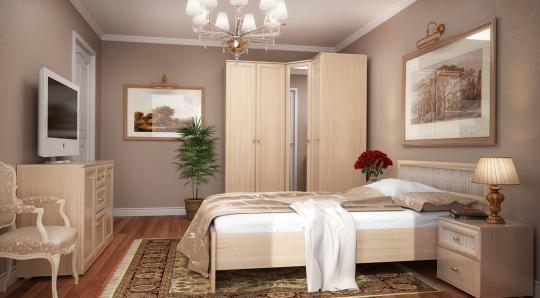 Спальня Милана (Орех)-1