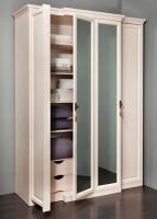 Шкаф для одежды и белья Montpellier с карнизом (1)