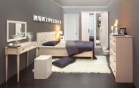 Спальня Montpellier (дуб млечный)