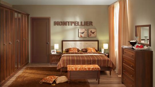 Спальня Montpellier (дуб млечный)-1