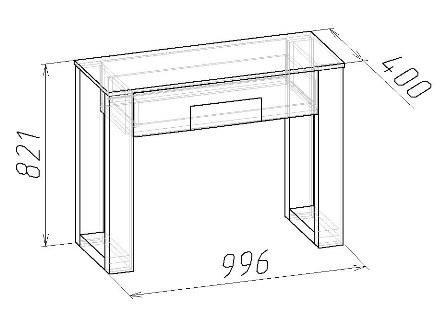 Стол туалетный Амели (6)
