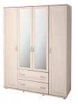 Шкаф для одежды 4-х дверный 19Р Ника-Люкс