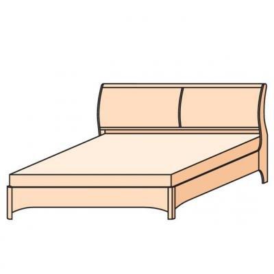 Кровать Петра-М без основания, без матраса.