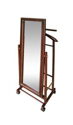 Костюмная вешалка с зеркалом на колесах В 24Н