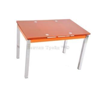 Стол обеденный раскладной B017(C) Orange (без цветка)