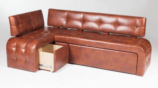 Кухонный угловой диван Бристоль-3