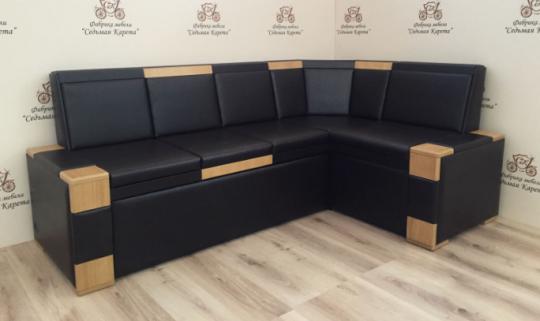 Кухонный угловой диван КВАДРО-5