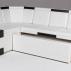 Кухонный угловой диван КВАДРО-1