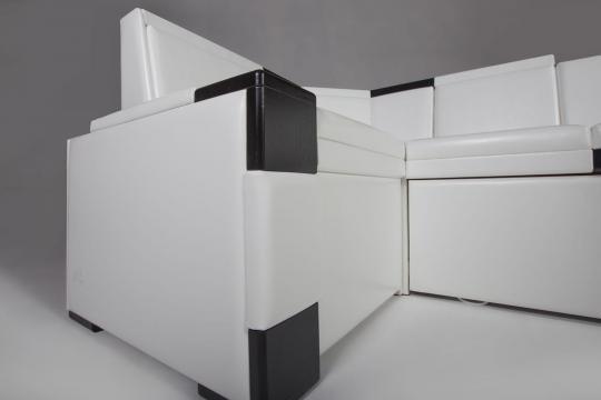Кухонный угловой диван КВАДРО-4