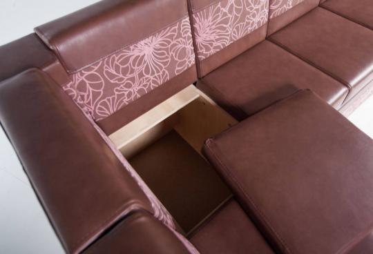 Кухонный угловой диван Остин-М-6