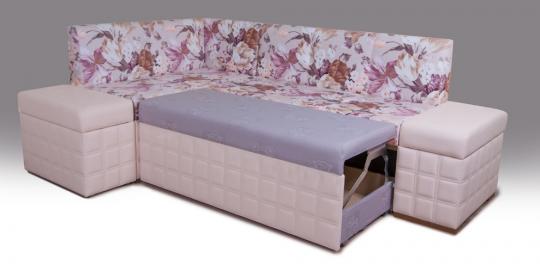 Кухонный угловой диван Престон-5