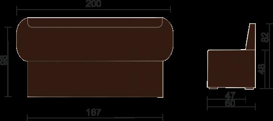 Кухонный диван Чикаго-4