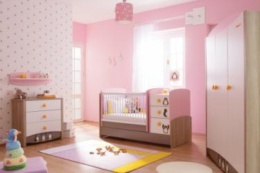 Комната для новорожденных Pink Peny