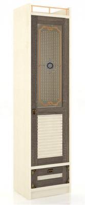 Шкаф одностворчатый со стеклянной дверью Калипсо ЛД 509.020