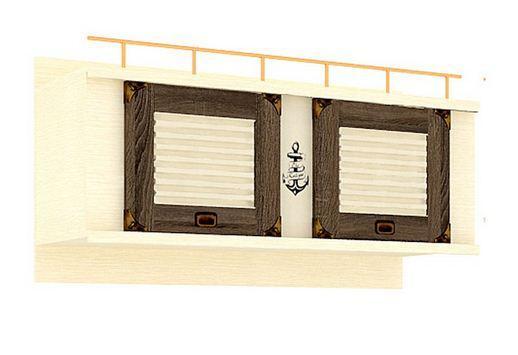 Шкаф навесной Калипсо ЛД 509.050