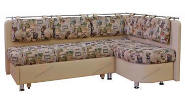 Угловой кухонный диван Метро со спальным местом дельфин