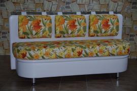 Кухонный диван Метро со спальным местом дельфин
