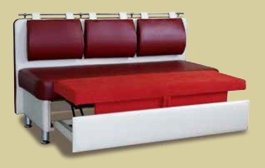 Кухонный диван Метро со спальным местом дельфин-2