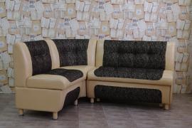 Кухонный угловой диван СЕНАТОР с ящиками