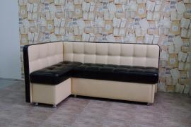 Угловой кухонный диван Токио со спальным местом дельфин