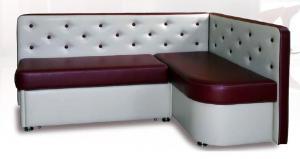 Угловой кухонный диван Престиж со спальным местом дельфин