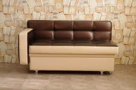 Кухонный диван Фокус со спальным местом с одним подлокотником