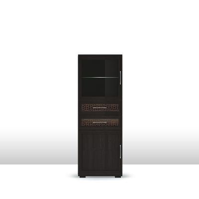шкаф низкий со стеклом (6) ГТ.013.305