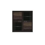 полка 4-х дверная (2 стеклодвери) (11)  ГТ.073.301 Парма-Люкс