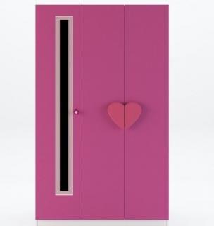 3-х дверный шкаф Виолетта