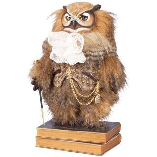 Кукла коллекционная Филин Барон Лейтон