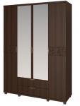 Шкаф для одежды 4-х дверный с ящиками 6 Ирис