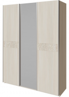 Шкаф-купе с зеркалом 3-х дверный 16 Ирис