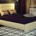 Кровать Лорена без матраса, без страз+основание