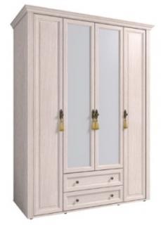 Шкаф для одежды и белья Montpellier с карнизом (2)